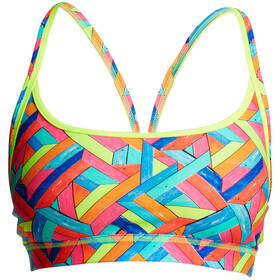 Funkita Sports Top Mujer, panel pop